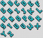 Alpha pattern #69349