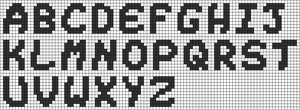 Alpha pattern #69359