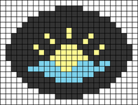 Alpha pattern #69376