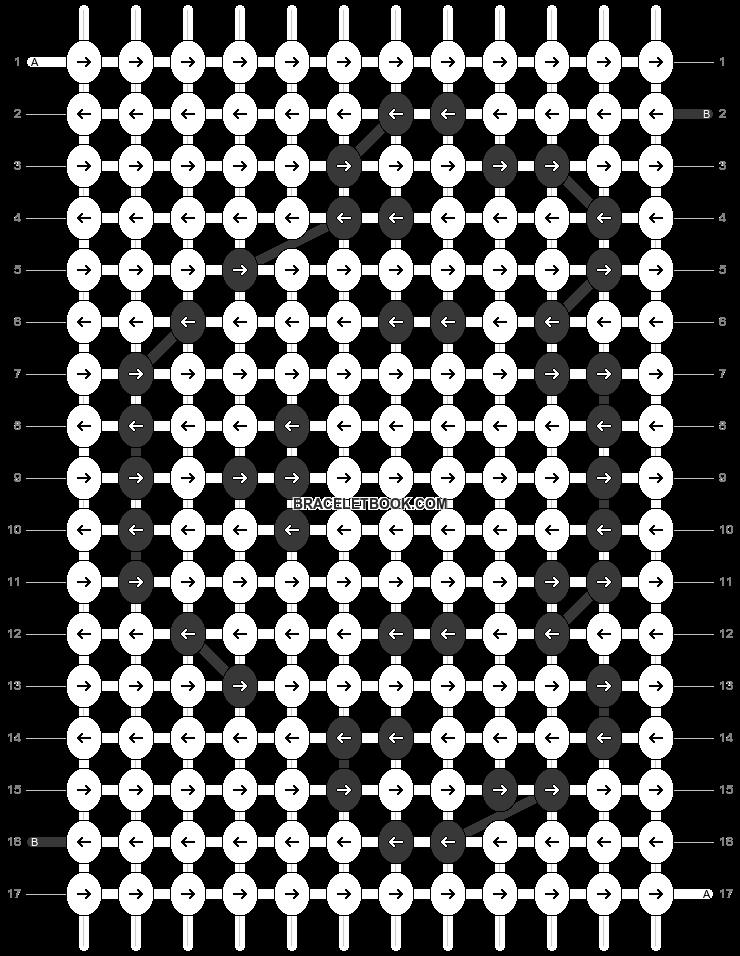 Alpha pattern #69414 pattern