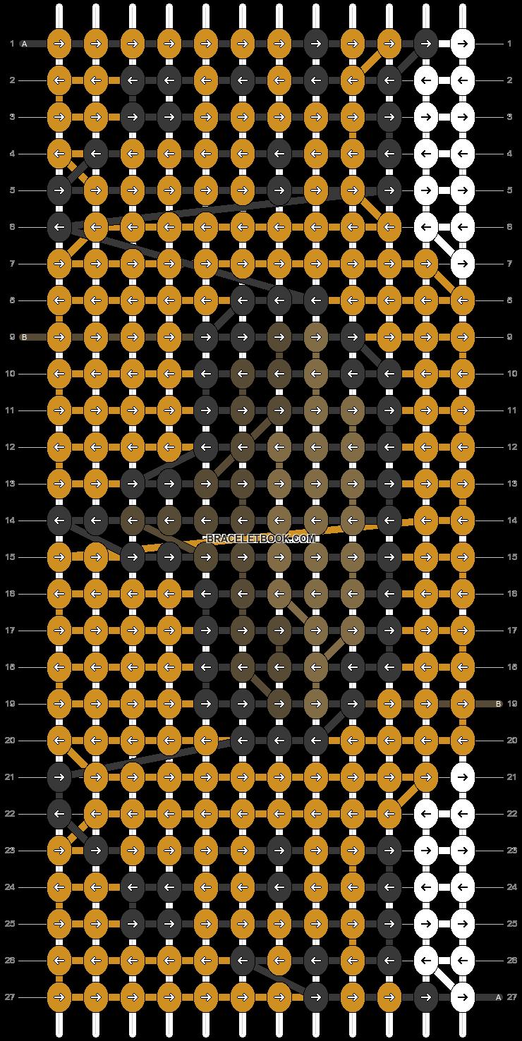Alpha pattern #69424 pattern