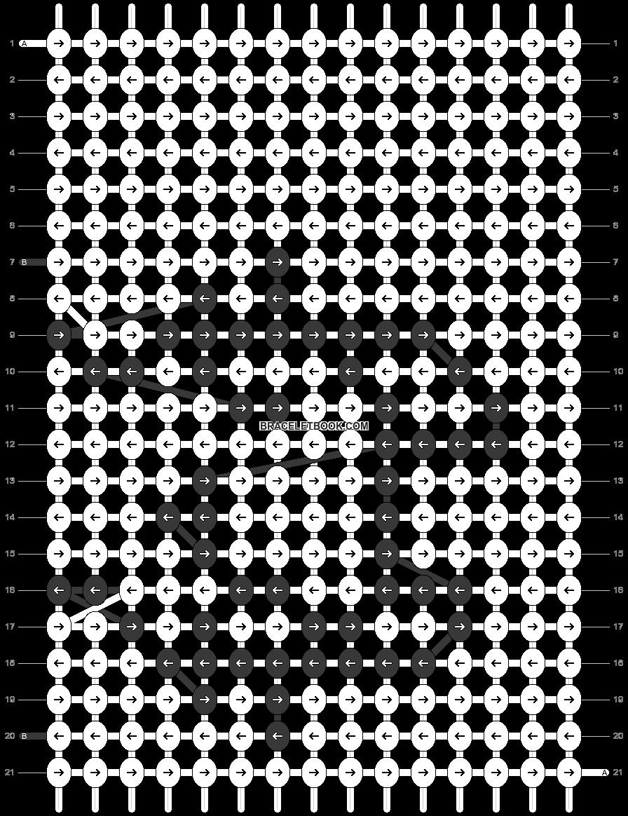 Alpha pattern #69434 pattern