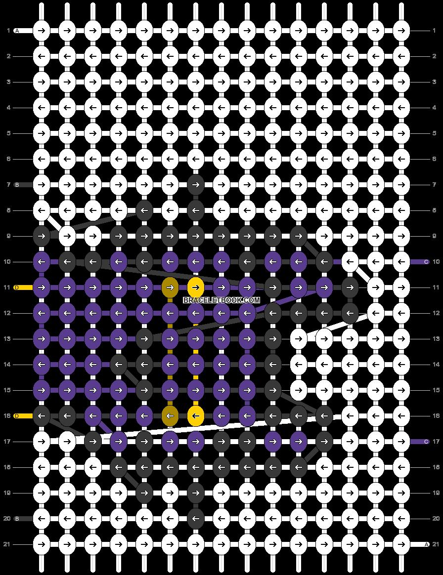 Alpha pattern #69440 pattern