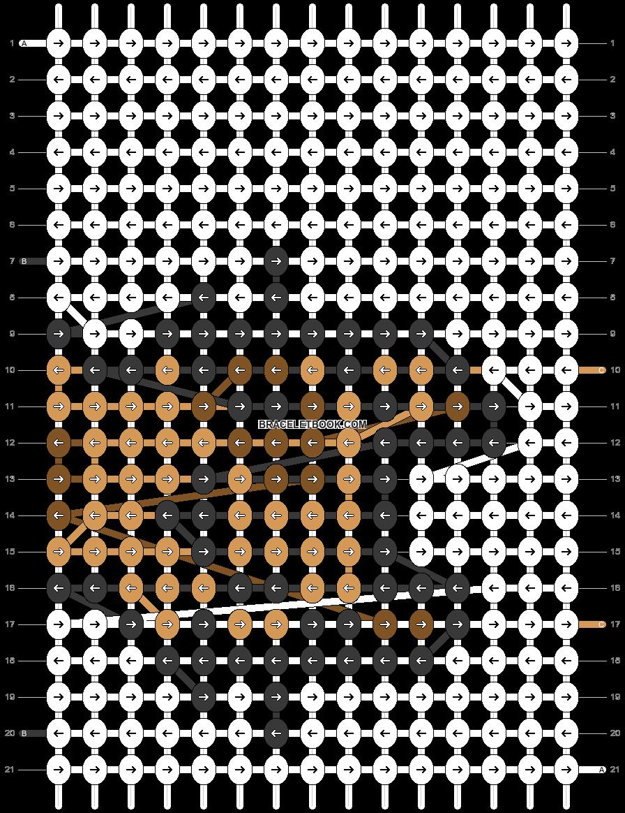 Alpha pattern #69441 pattern