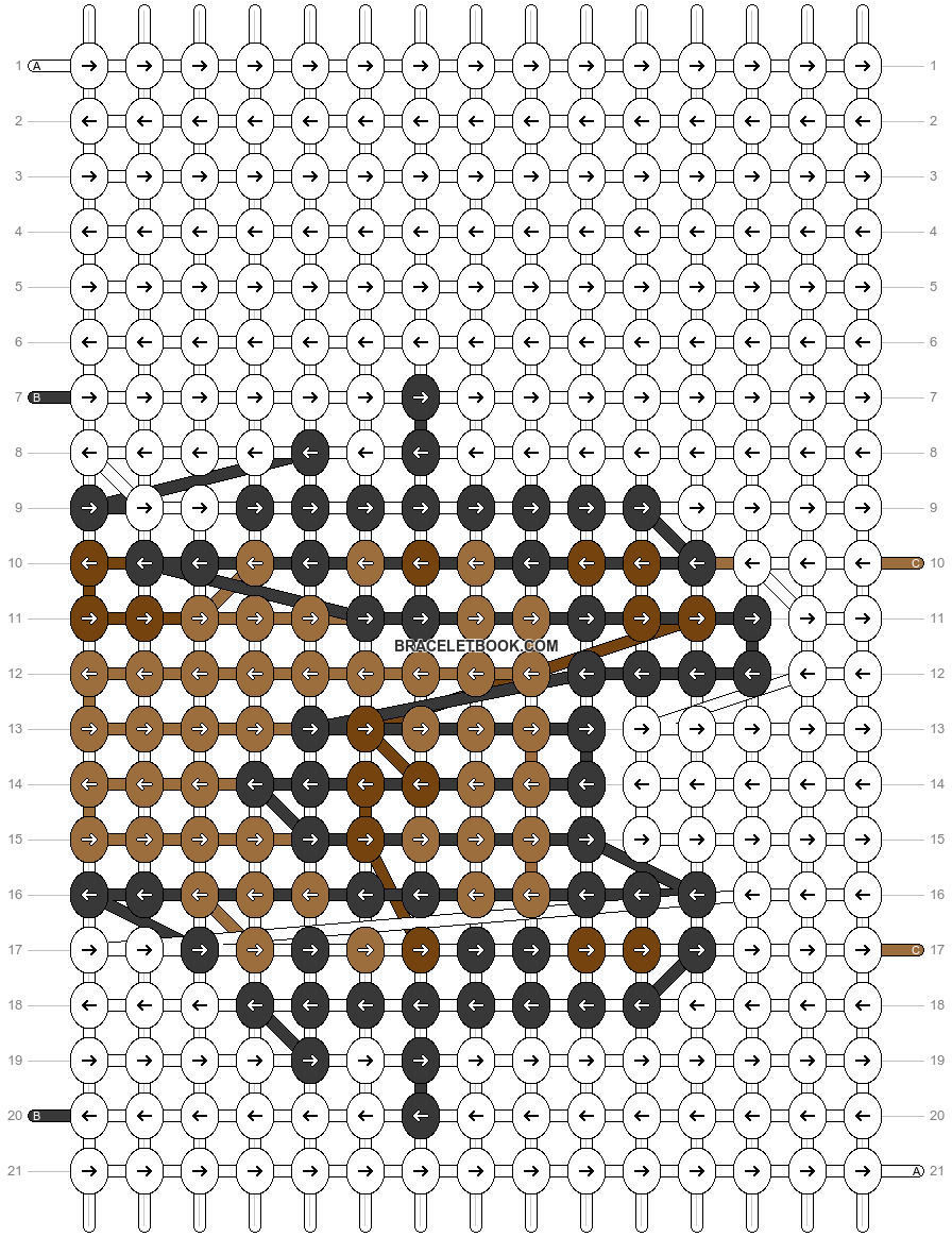 Alpha pattern #69442 pattern