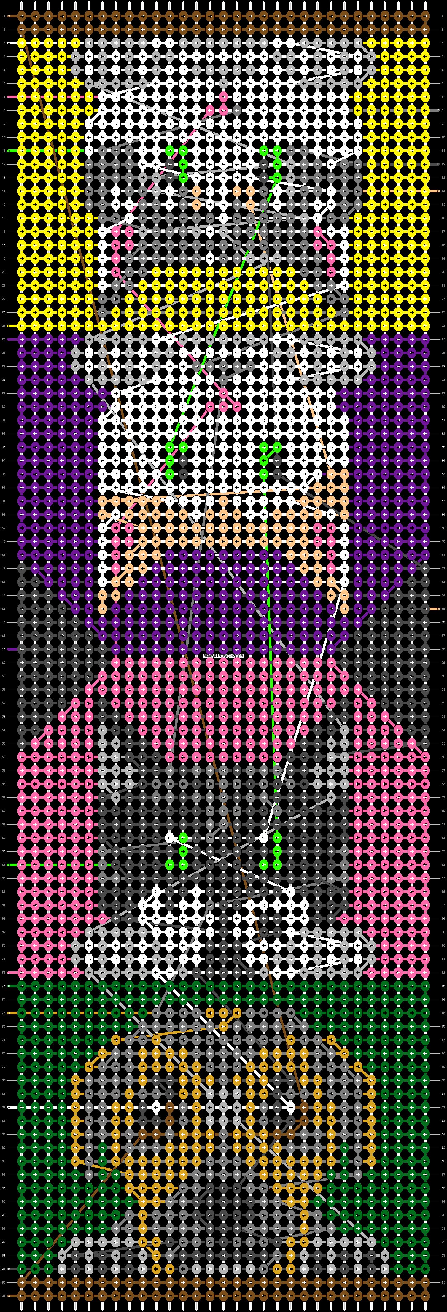 Alpha pattern #69445 pattern