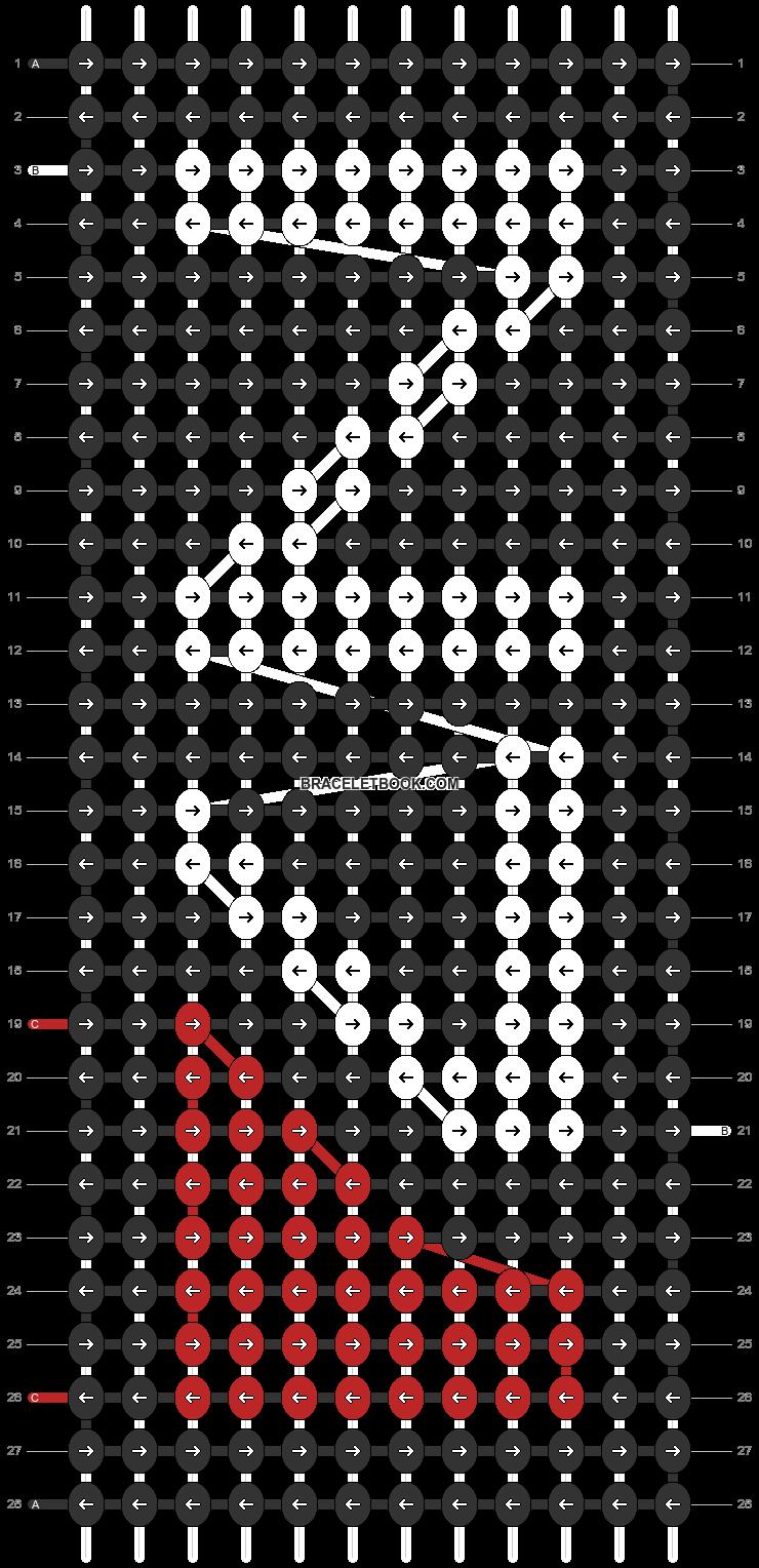 Alpha pattern #69450 pattern