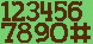 Alpha pattern #69459