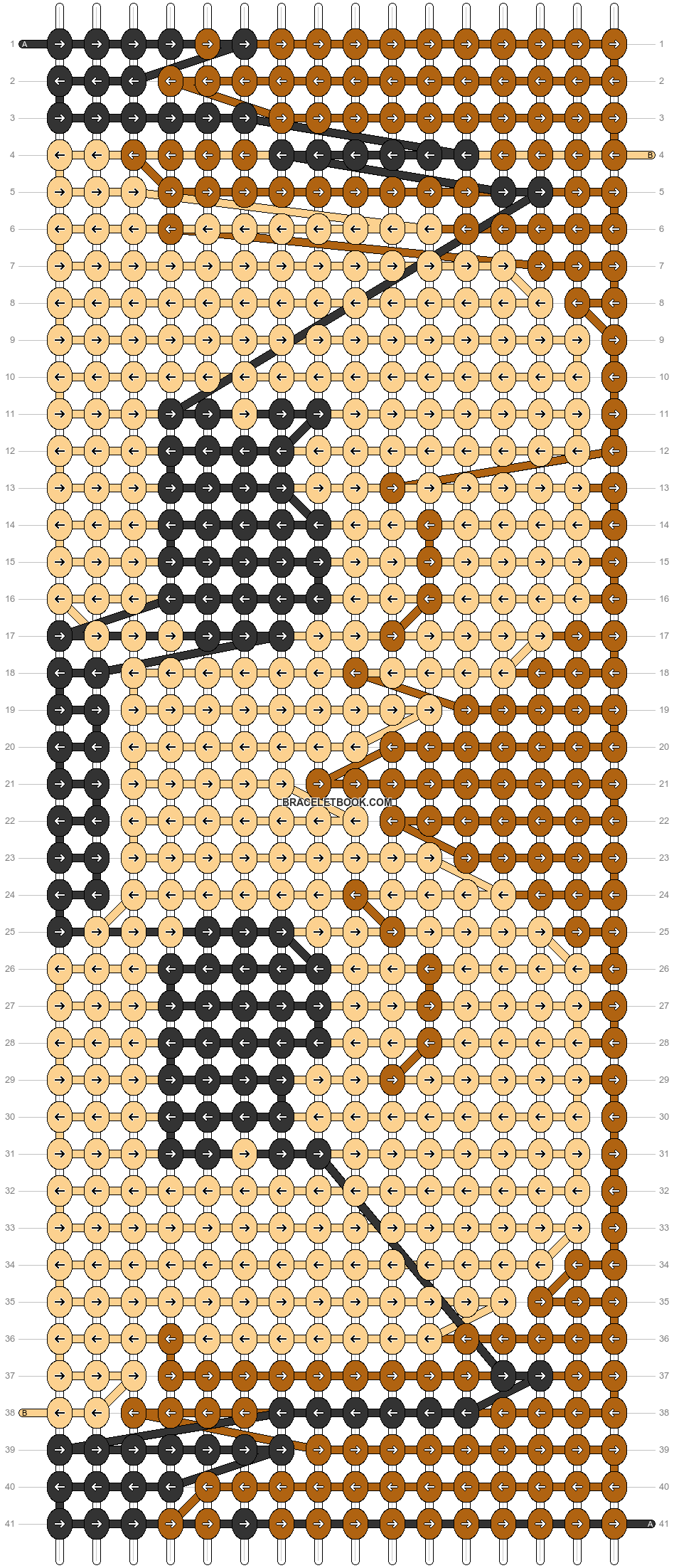 Alpha pattern #69483 pattern
