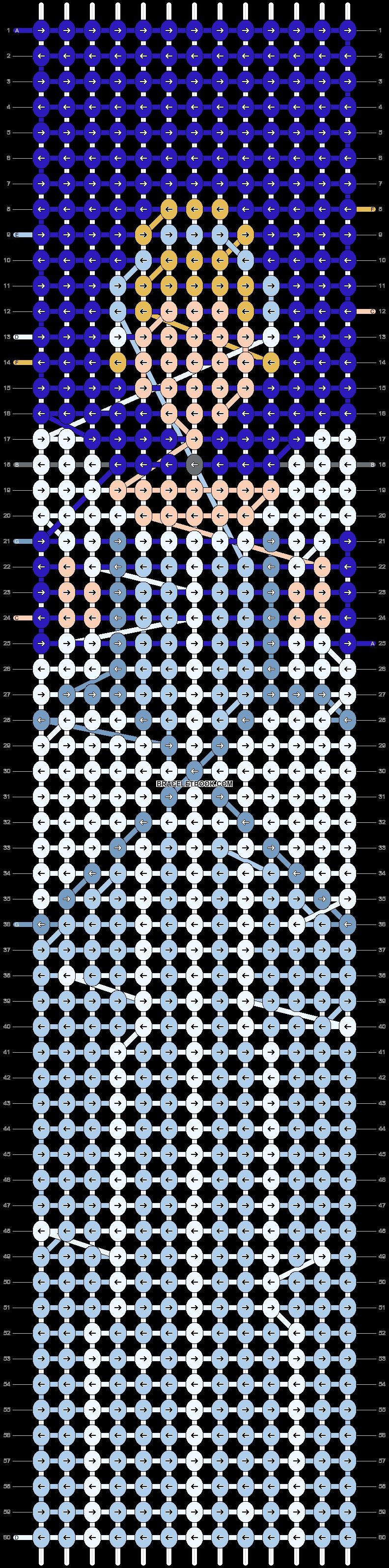 Alpha pattern #69523 pattern