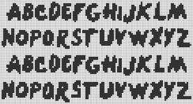 Alpha pattern #69544
