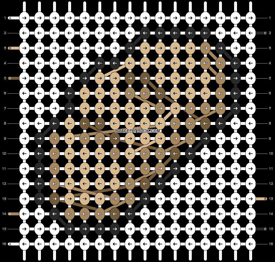 Alpha pattern #69618 pattern