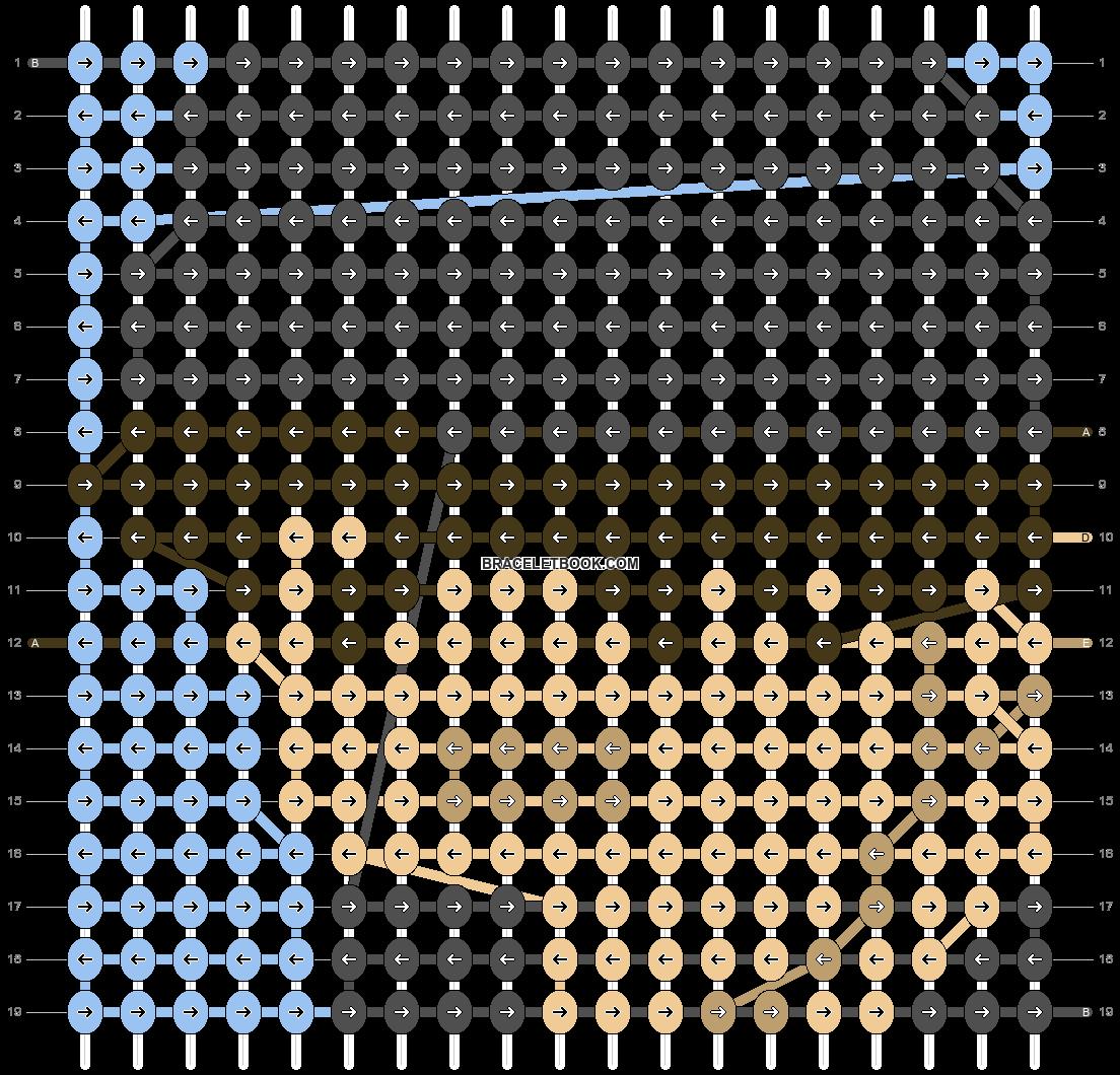 Alpha pattern #69650 pattern