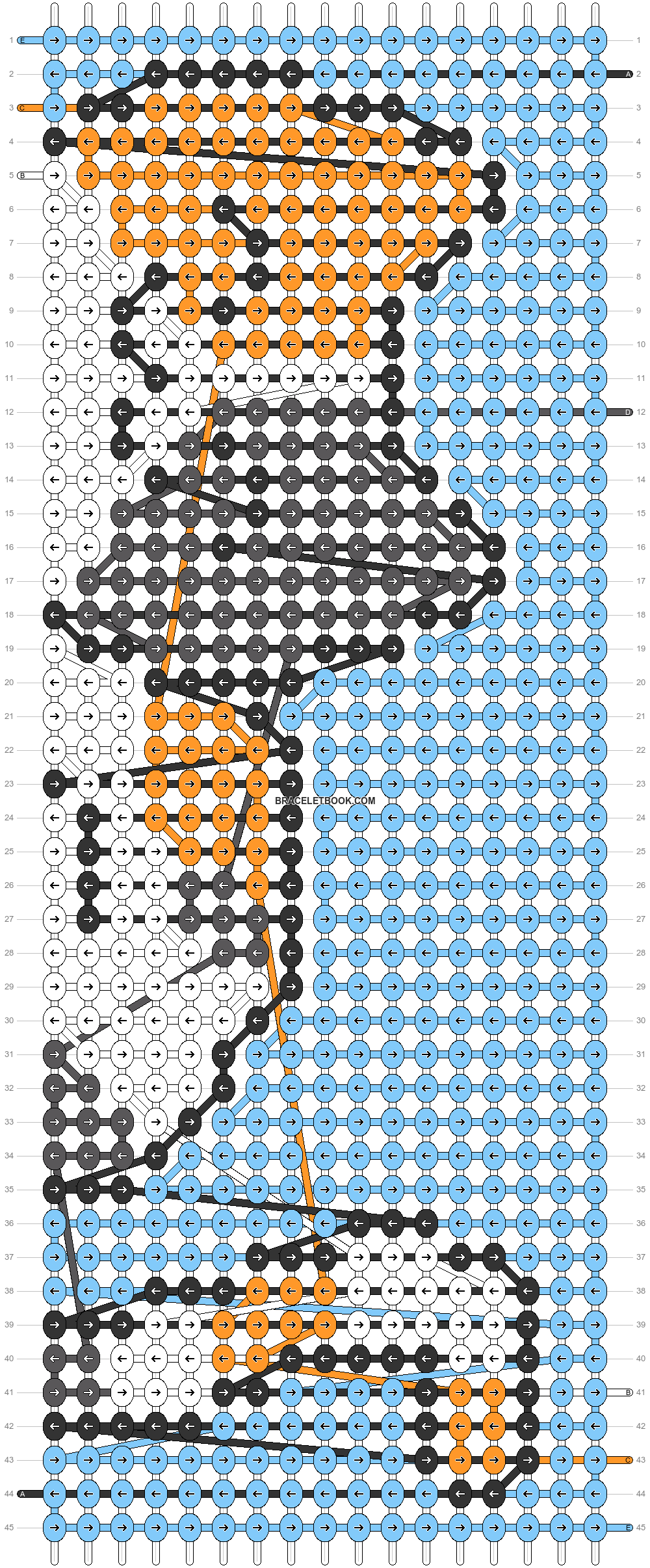 Alpha pattern #69689 pattern