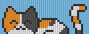 Alpha pattern #69689