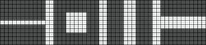 Alpha pattern #69702