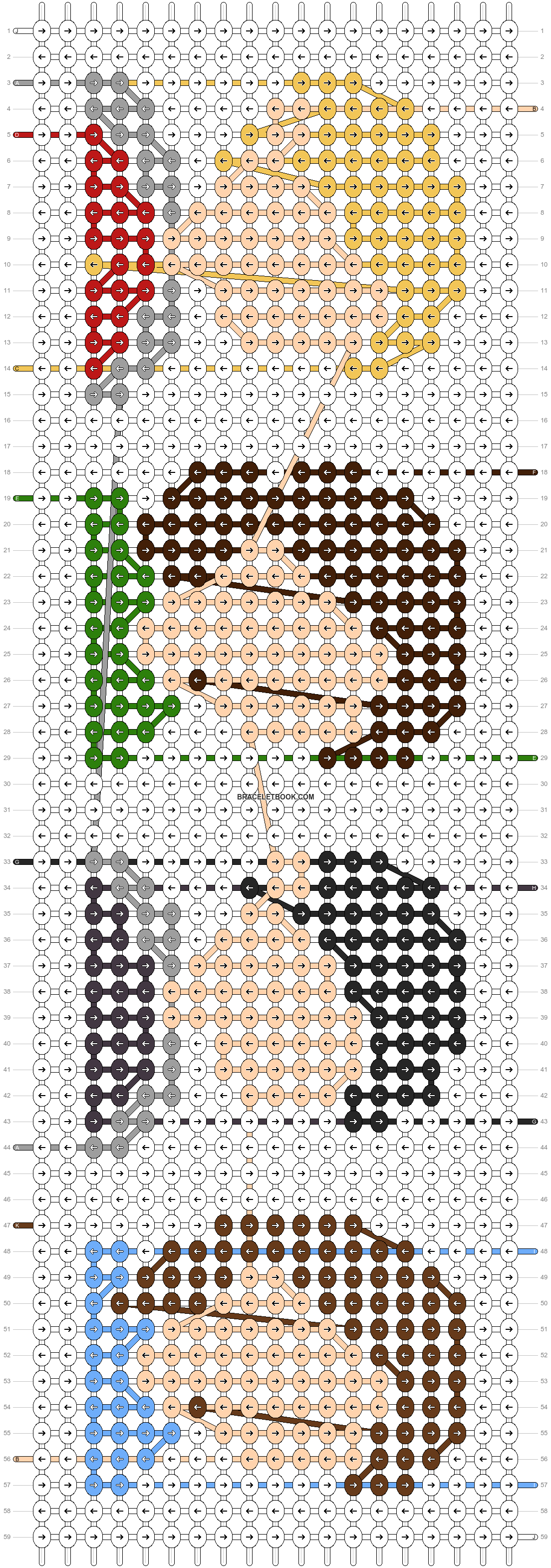 Alpha pattern #69703 pattern