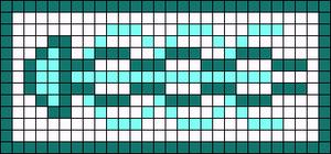 Alpha pattern #69710