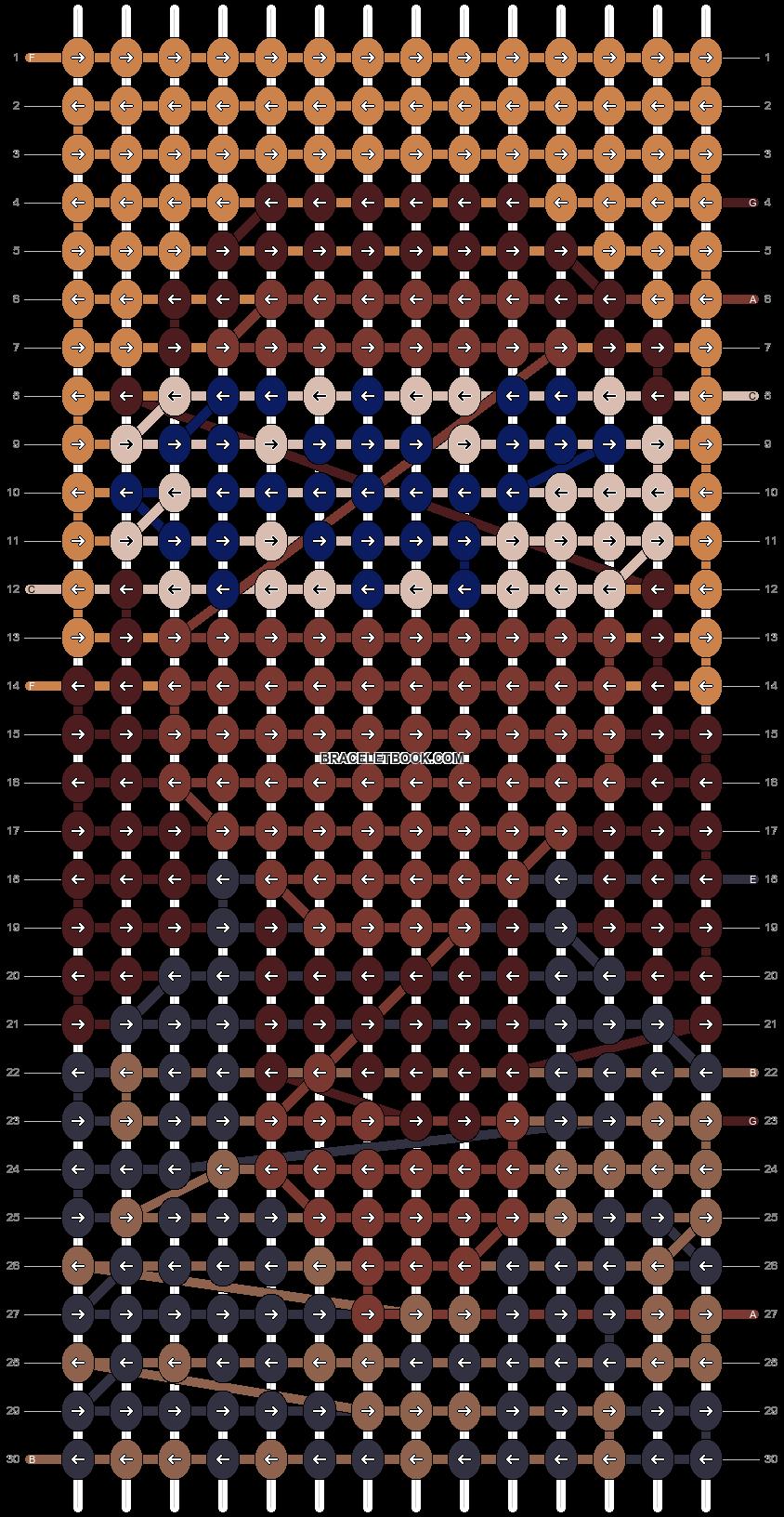 Alpha pattern #69715 pattern