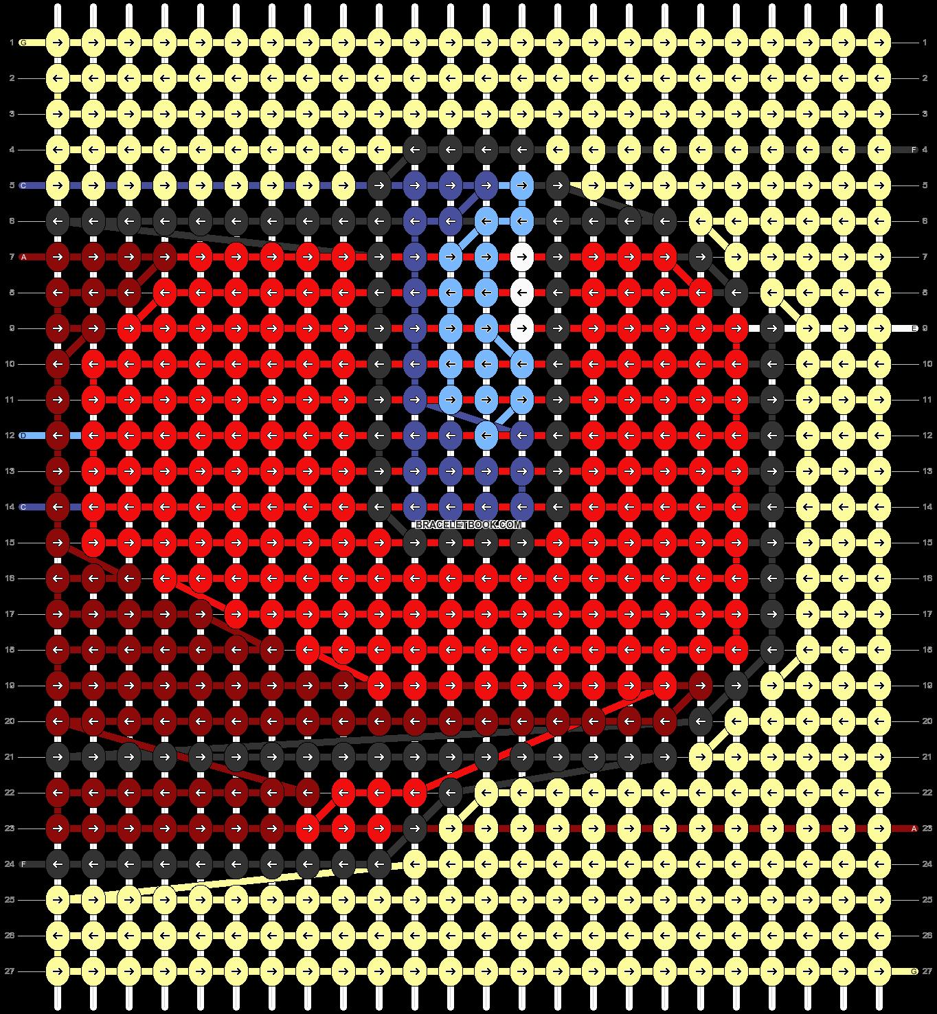 Alpha pattern #69717 pattern