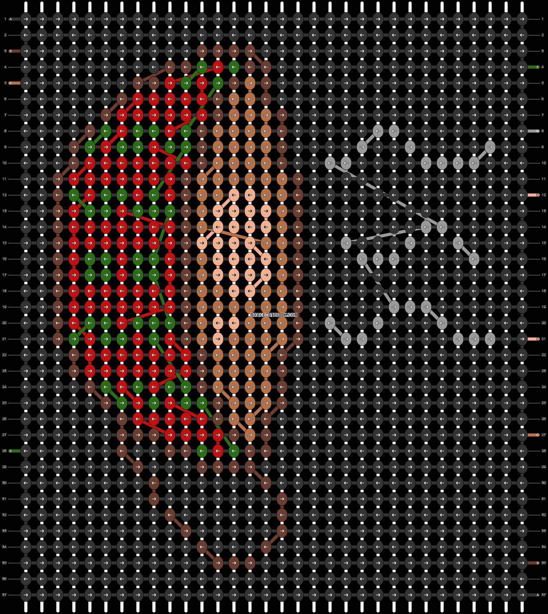 Alpha pattern #69722 pattern