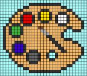 Alpha pattern #69723
