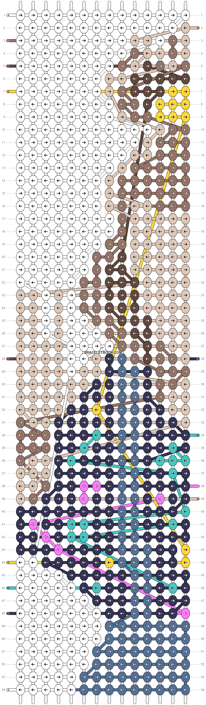 Alpha pattern #69736 pattern