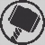 Alpha pattern #69767