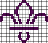 Alpha pattern #69800