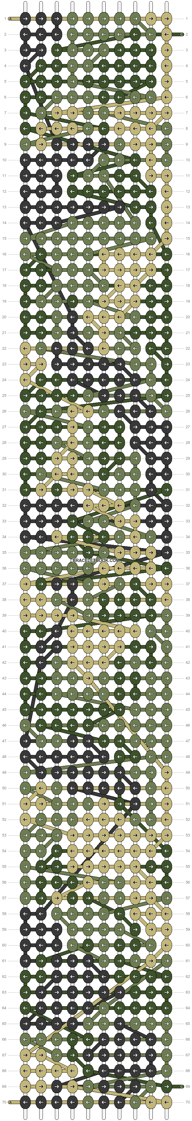 Alpha pattern #69801 pattern