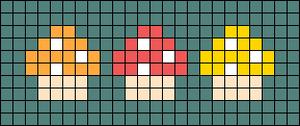 Alpha pattern #69802