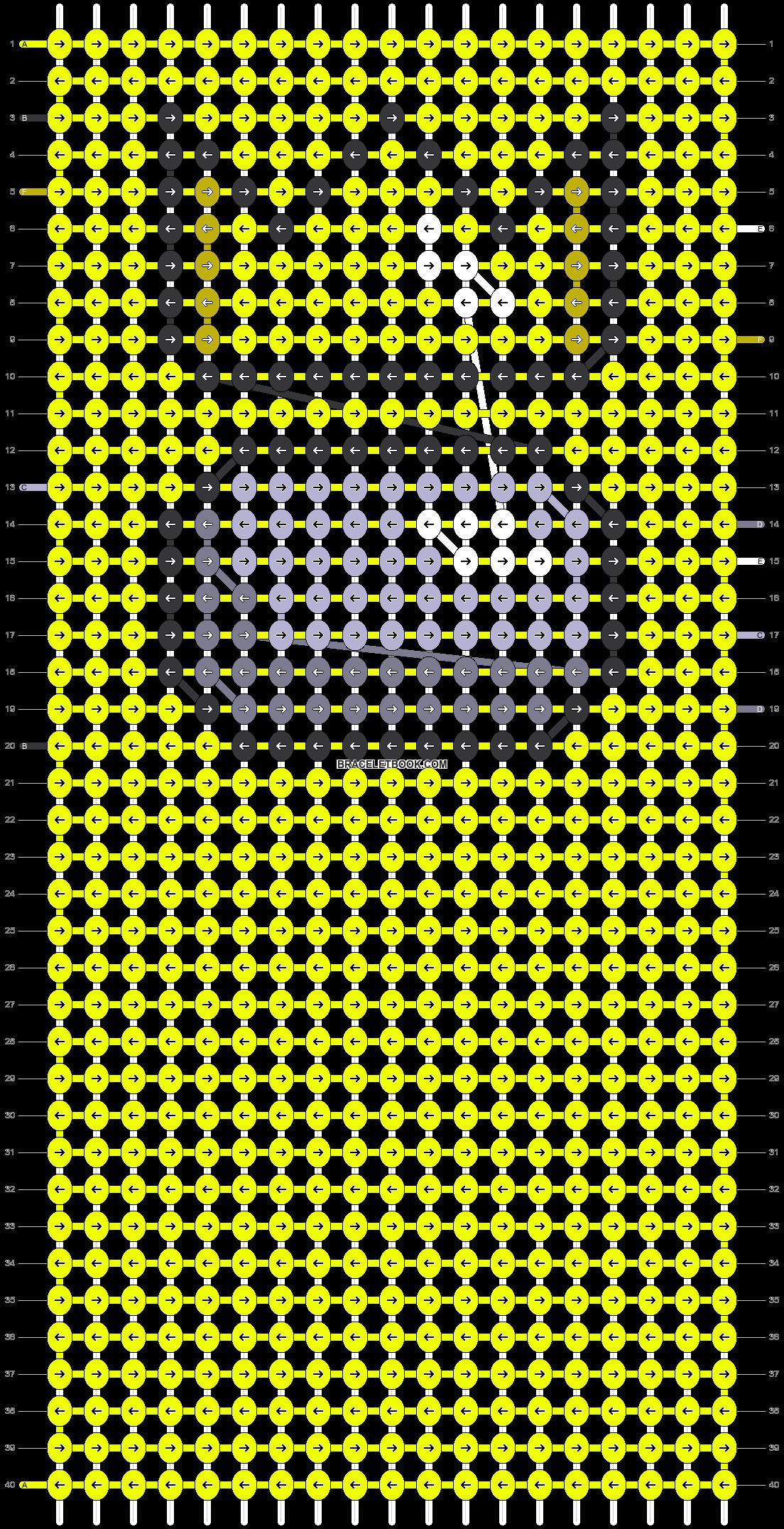 Alpha pattern #69808 pattern