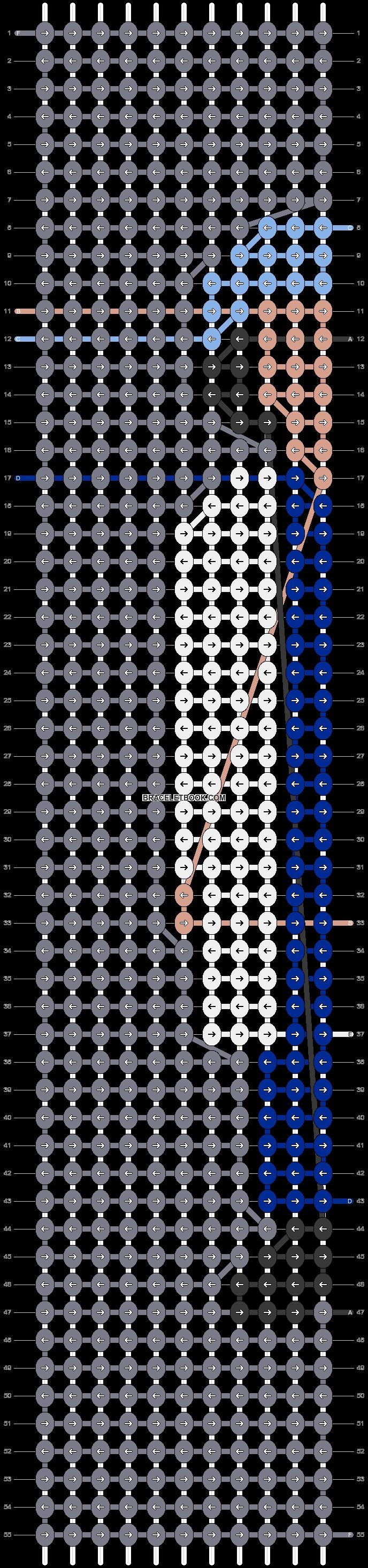 Alpha pattern #69812 pattern
