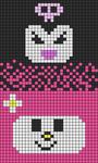 Alpha pattern #69813