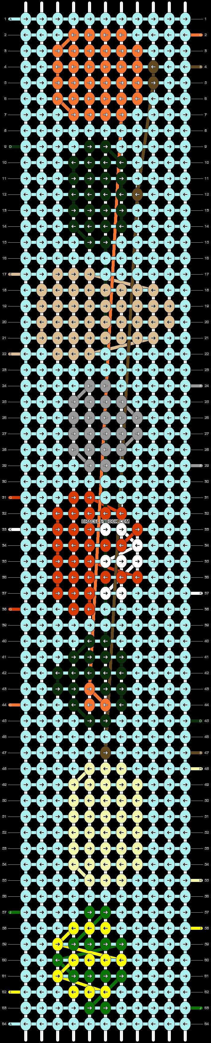 Alpha pattern #69833 pattern