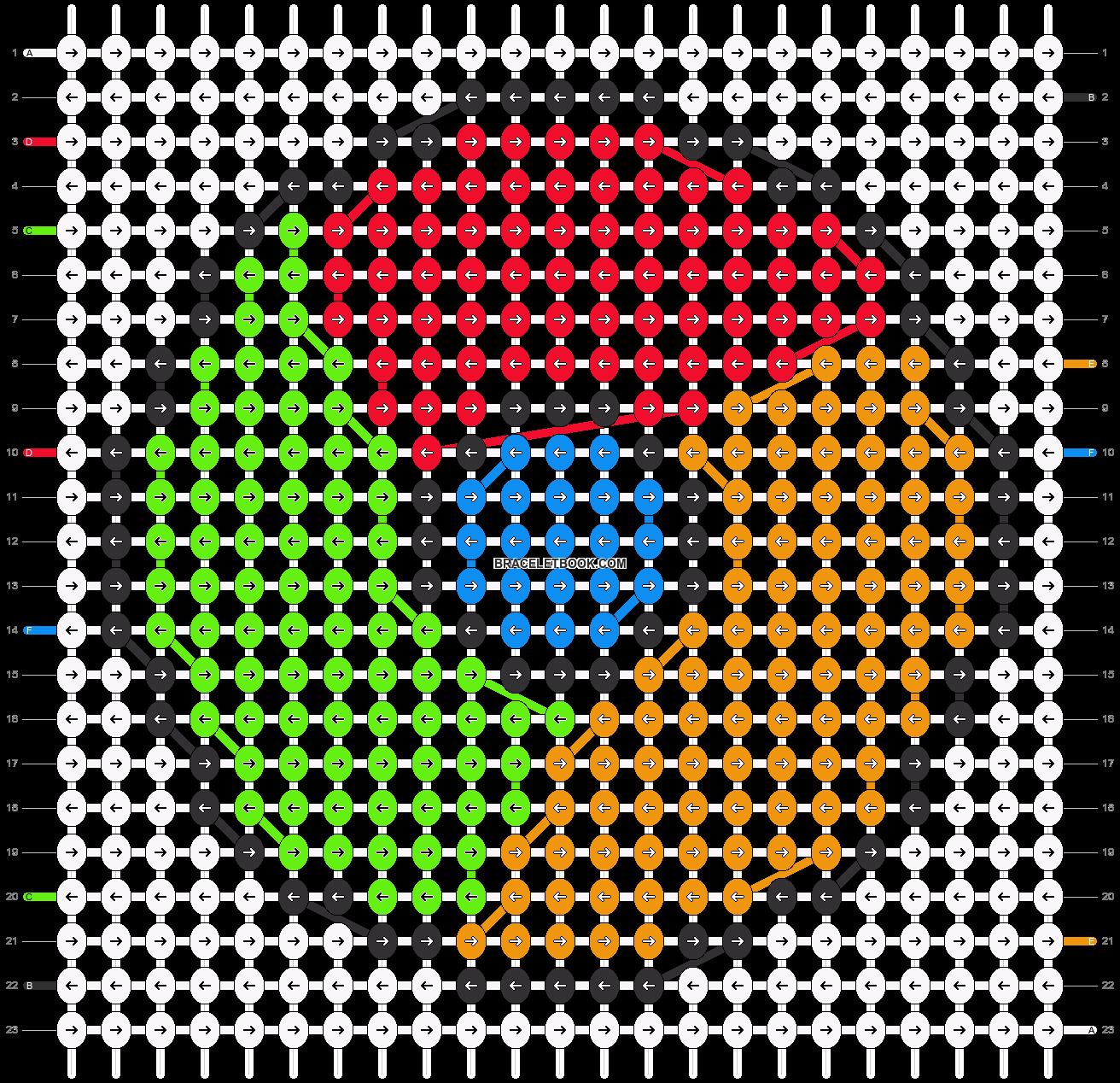 Alpha pattern #69836 pattern