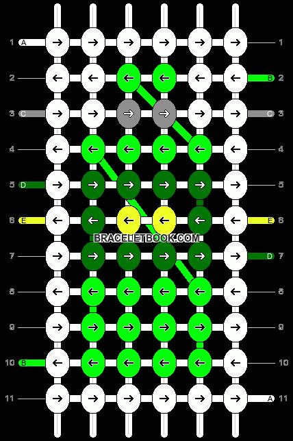 Alpha pattern #69840 pattern