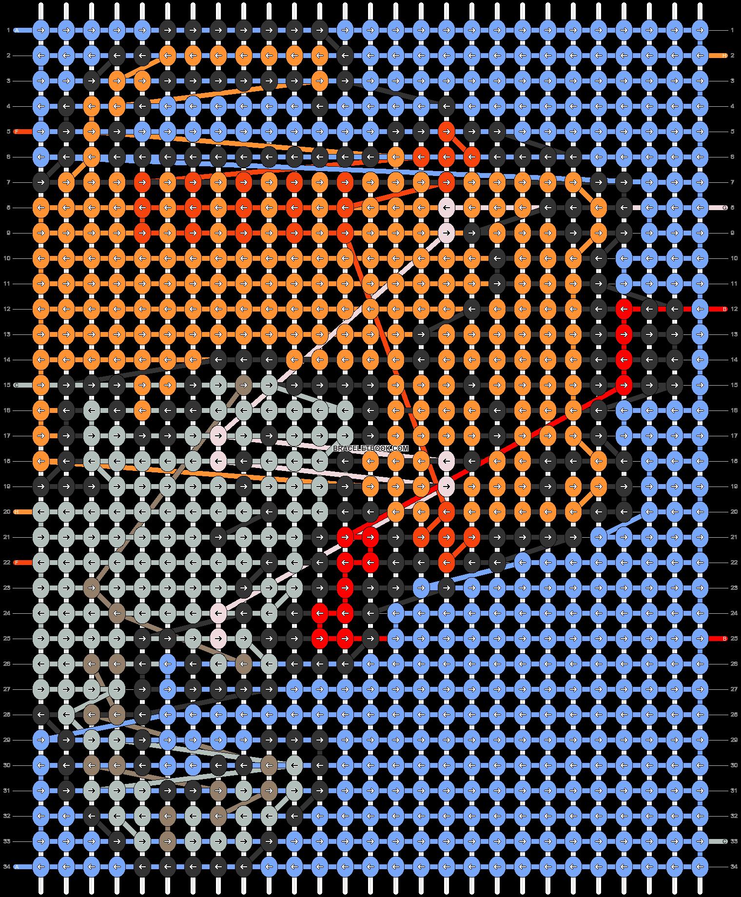 Alpha pattern #69863 pattern