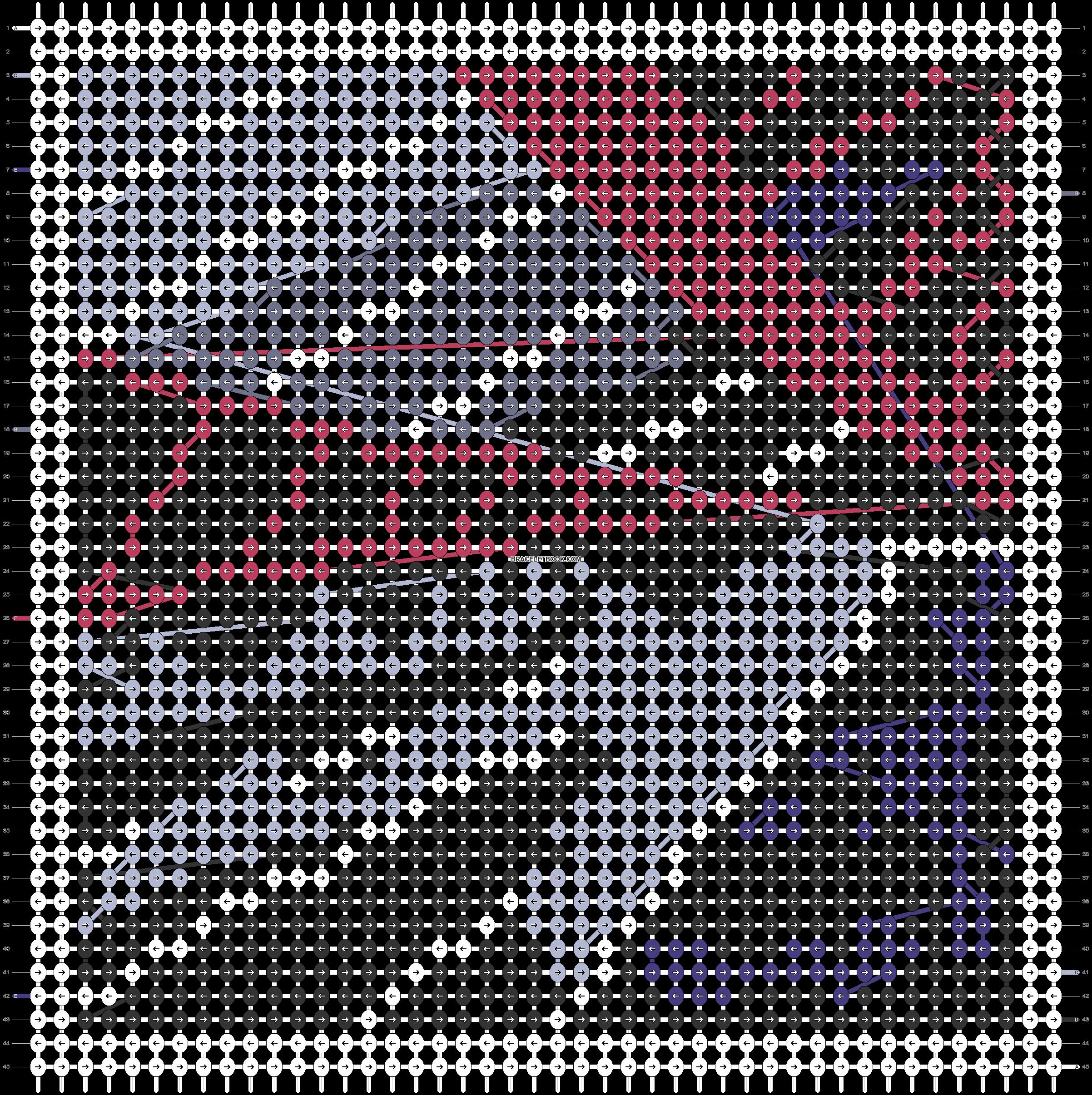 Alpha pattern #69872 pattern