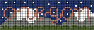 Alpha pattern #69906