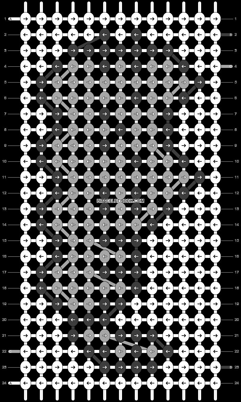 Alpha pattern #69920 pattern