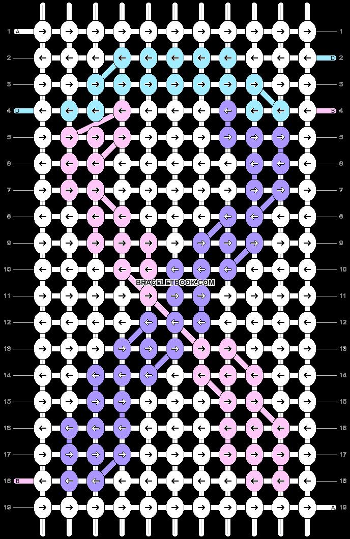 Alpha pattern #69960 pattern