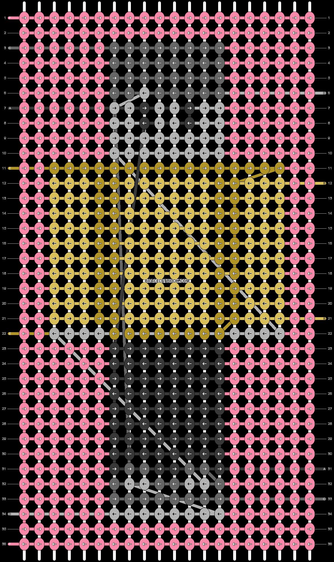 Alpha pattern #69962 pattern