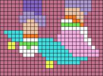 Alpha pattern #69965