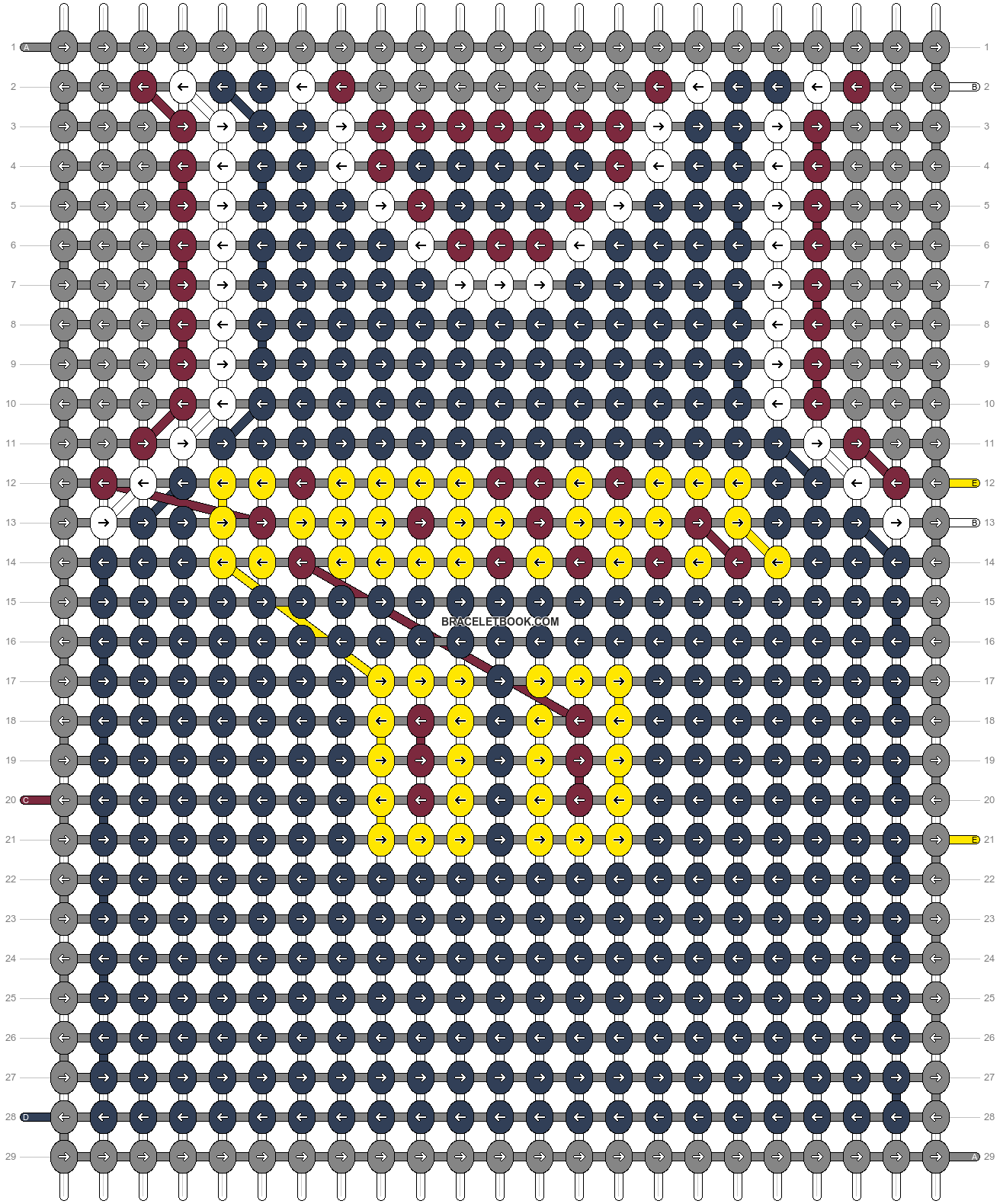 Alpha pattern #69974 pattern