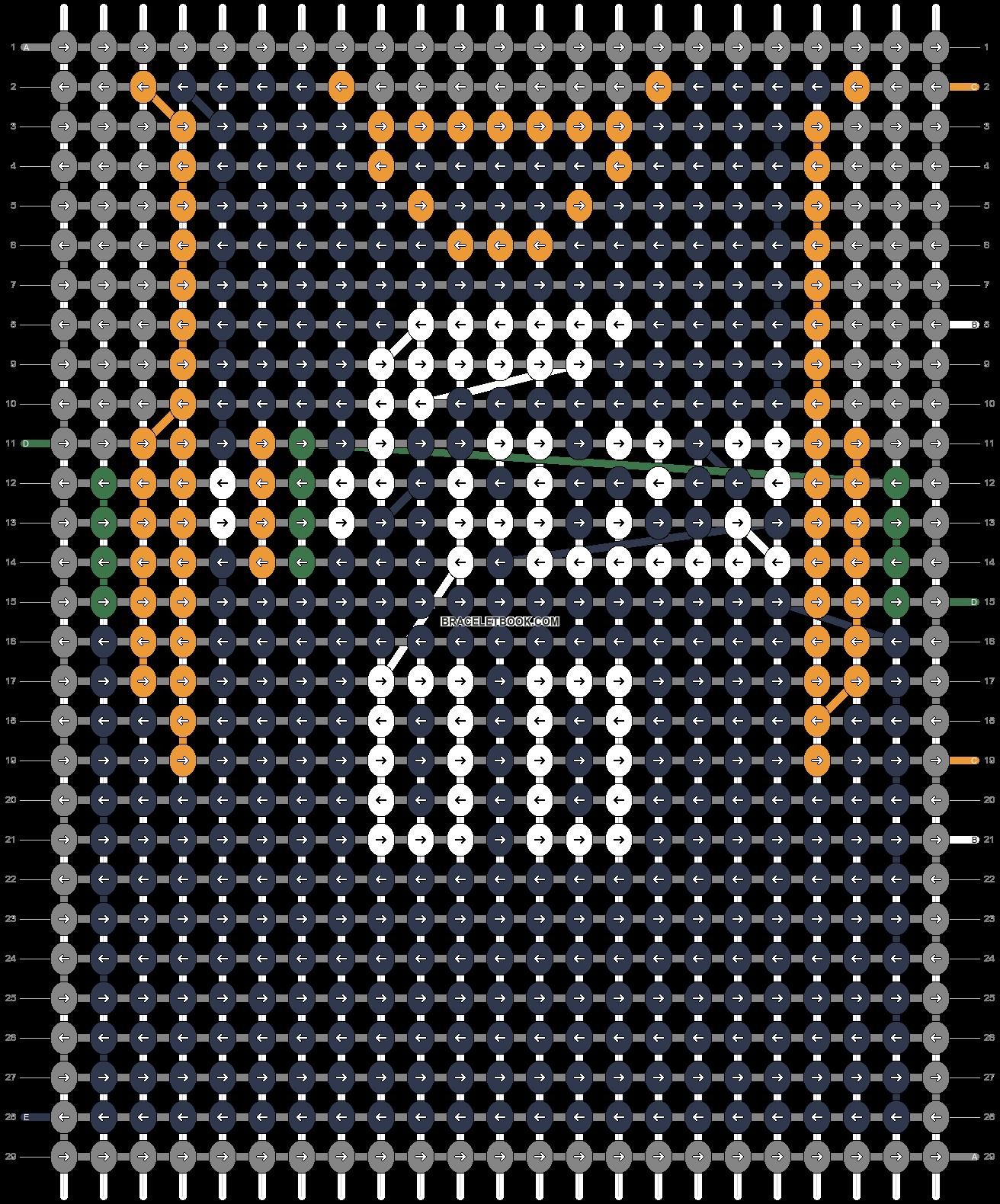 Alpha pattern #69978 pattern