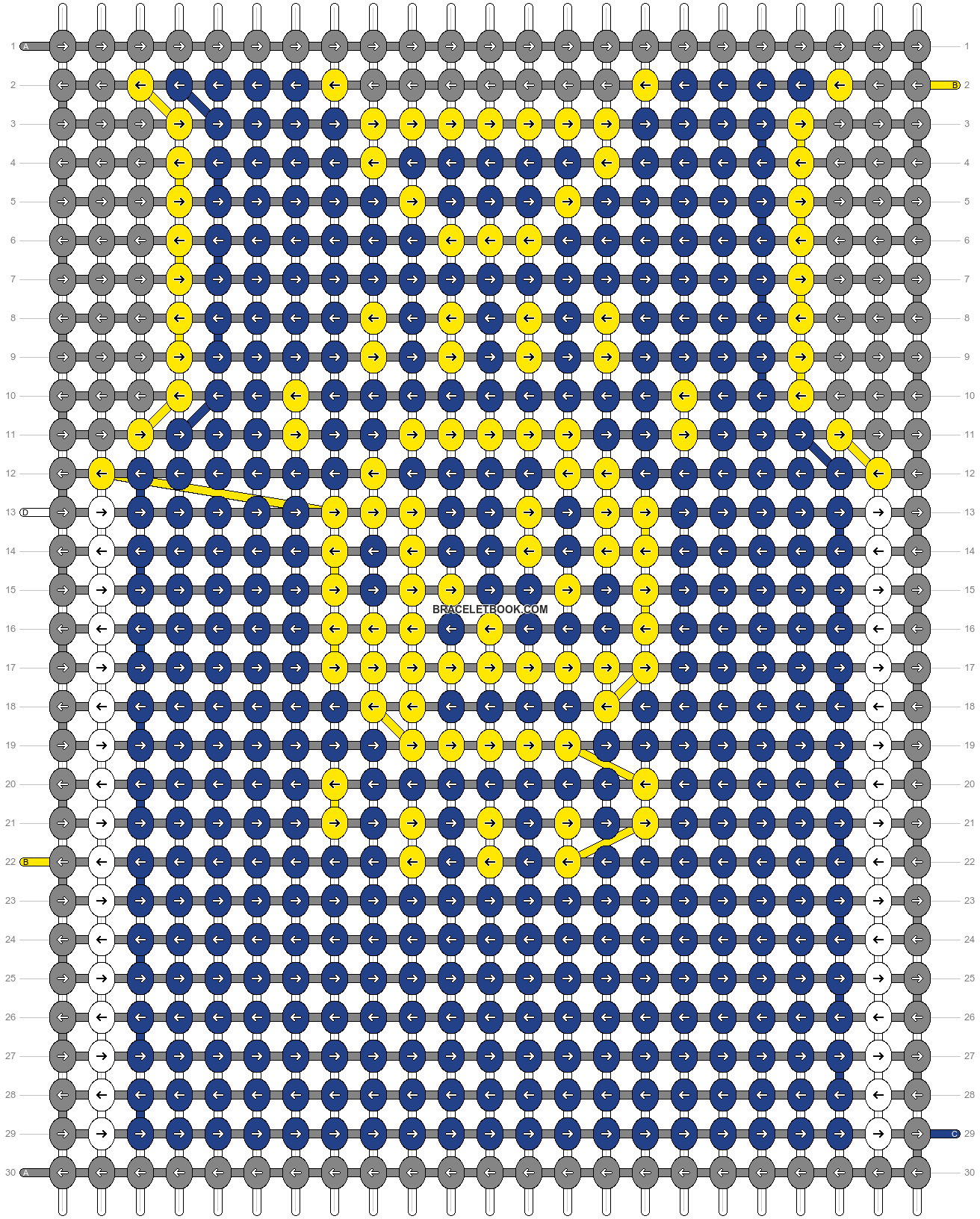 Alpha pattern #69979 pattern