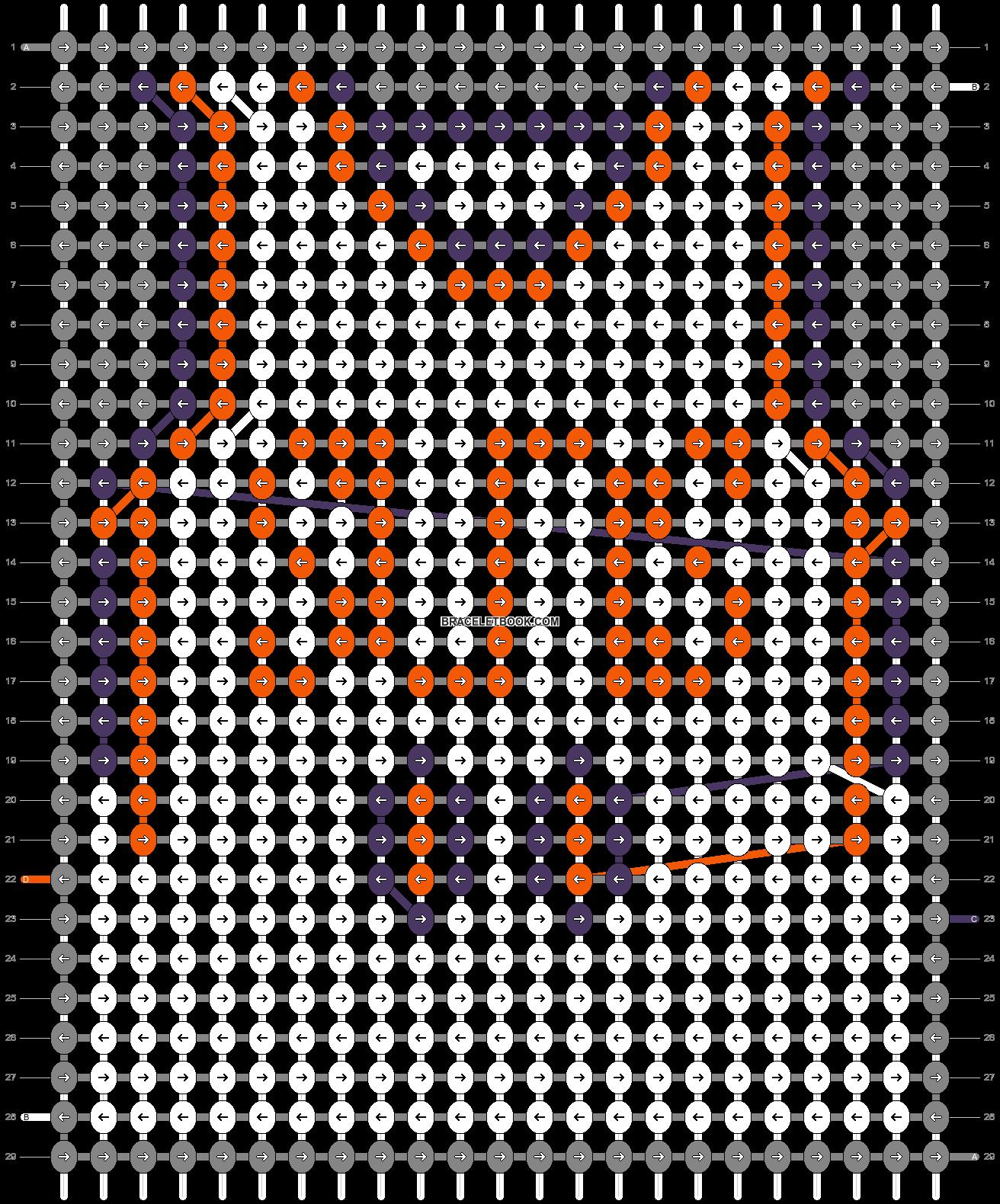 Alpha pattern #69982 pattern
