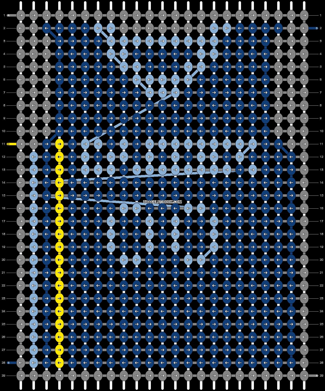 Alpha pattern #69986 pattern