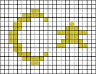 Alpha pattern #69990